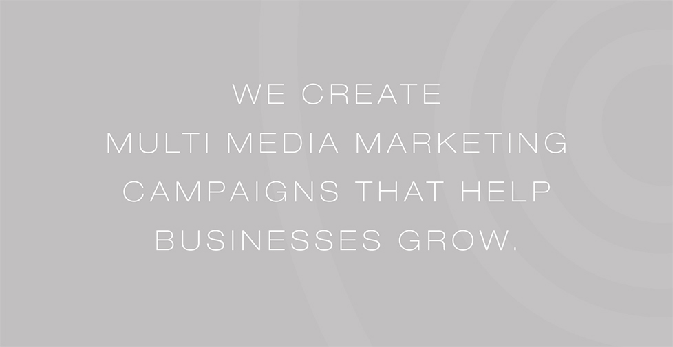 We are a South West based advertising, design and marketing company who deliver multi-media marketing campaigns that help businesses grow.