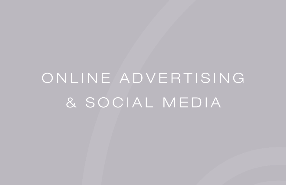 Online advertising & Social Media